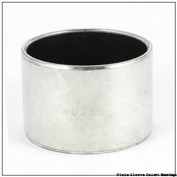 5.5000 in x 6.0000 in x 4.0000 in  Rexnord 701-01088-128 Plain Sleeve Insert Bearings